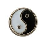 Ying Yang - Enamel Charm